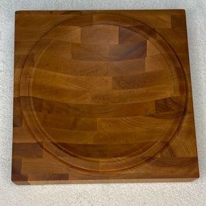 "Mezzaluna Wooden Concave Chopping Board 9"""